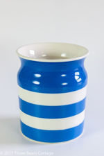 T G Green Cornishware Utensils Jar