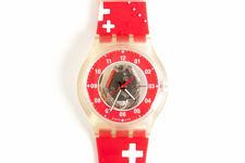"""Swatch """"Nicolas G Hayek Center"""" Unisex Watch"""