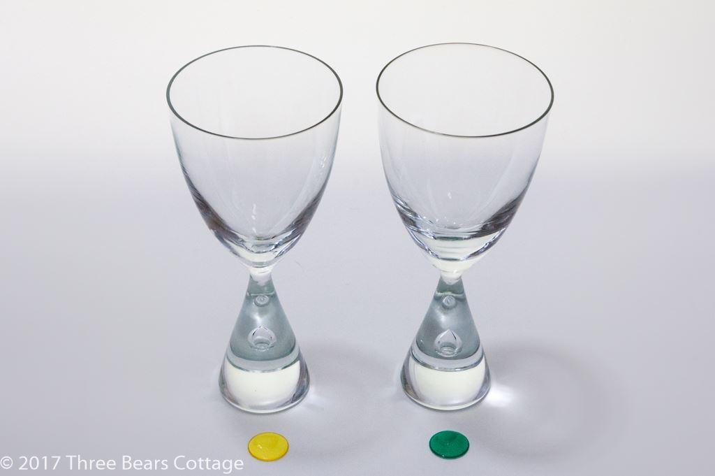 Kastrup Holmegaard Princess Large Wine Glasses
