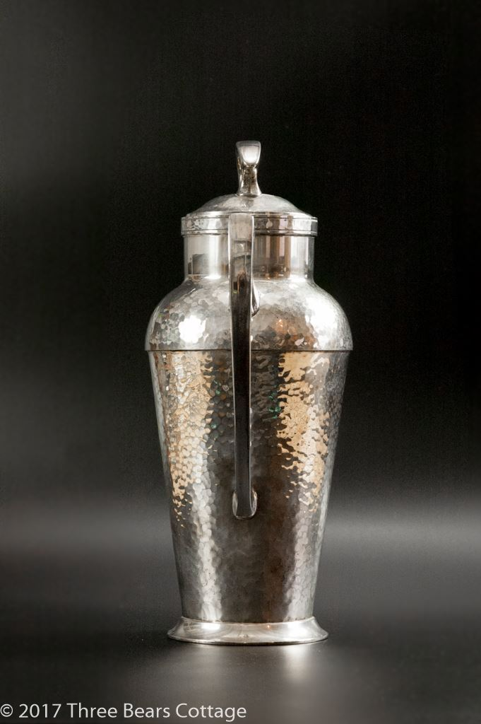 Derby S P Hand Beaten Silver Plated Cocktail Shaker