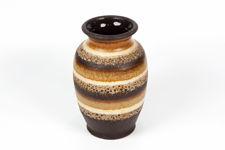Dümler and Breiden Striped Earth Tone Vase