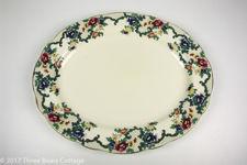 "Royal Cauldon ""Victoria"" Oval Serving Platter"