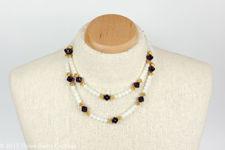 Pauline Rader Glass Bead Necklace