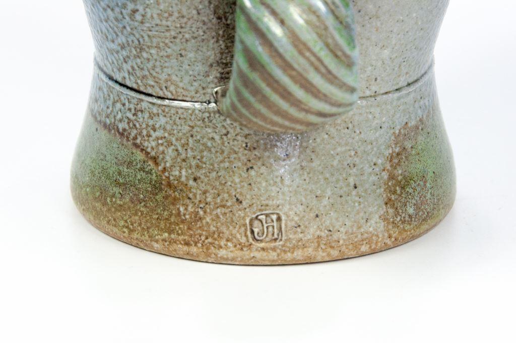 Jane Hamlyn Heart Shaped Salt Glaze Jug
