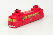 Cosmo Battery Operated Toy Cable Car in Red