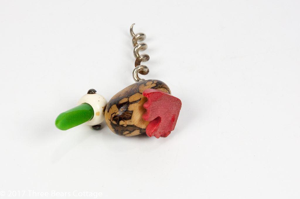 Tagua Nut Parrot Corkscrew