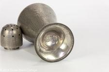 Pewter Art Deco Style Sugar Shaker