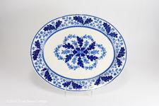 """Ridgway """"Deak"""" Blue & White Serving Platter"""