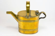 Victorian Brass Hot Water Can