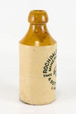 Rochdale & Oldham Stoneware Mineral Water Bottle