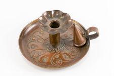 Keswick School Arts & Crafts Copper Chamberstick