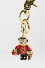 Butler & Wilson Bell Boy Bear Keyring