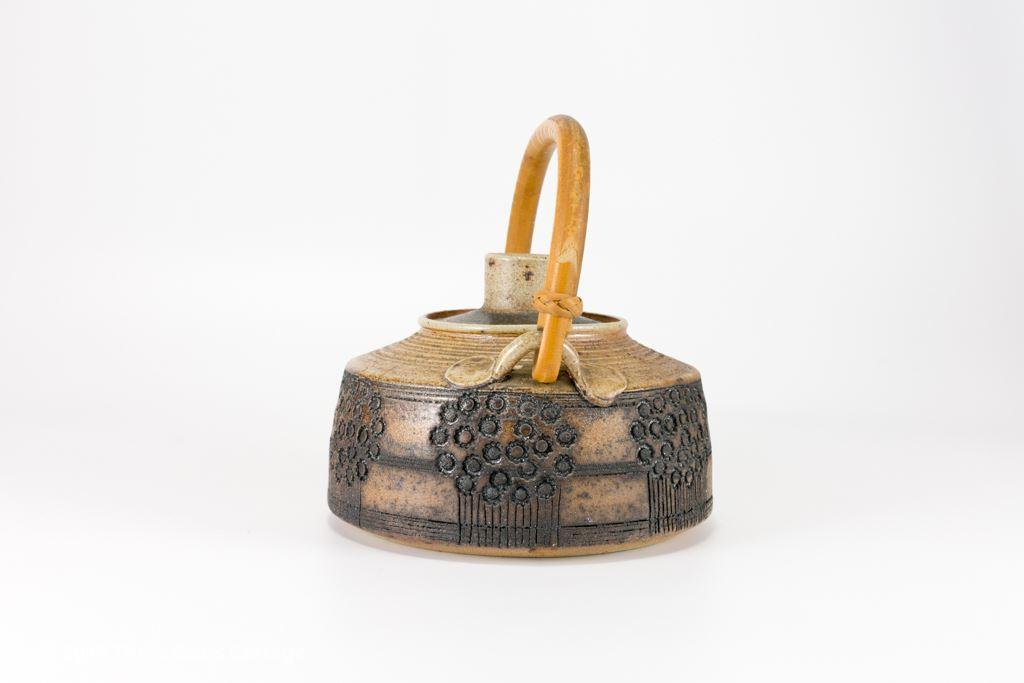 Mary Rich Studio Pottery Salt Glaze Stoneware Teapot