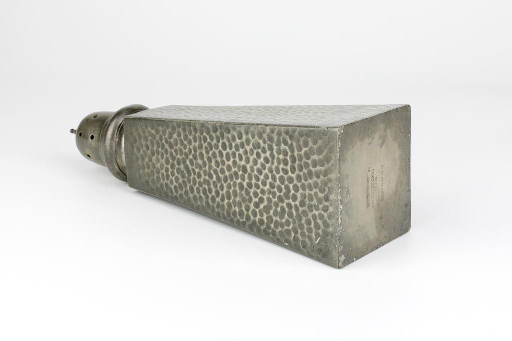Art Deco Hand Hammered Pewter Sugar Shaker