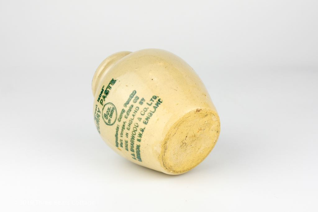 Sharwood Green Label Stoneware Curry Paste Pot