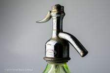 D Provoost Ghent Green Uranium Glass Siphon