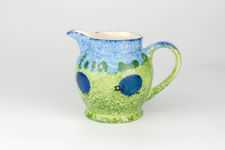 Price & Kensington Blue Sheep Design Milk Jug