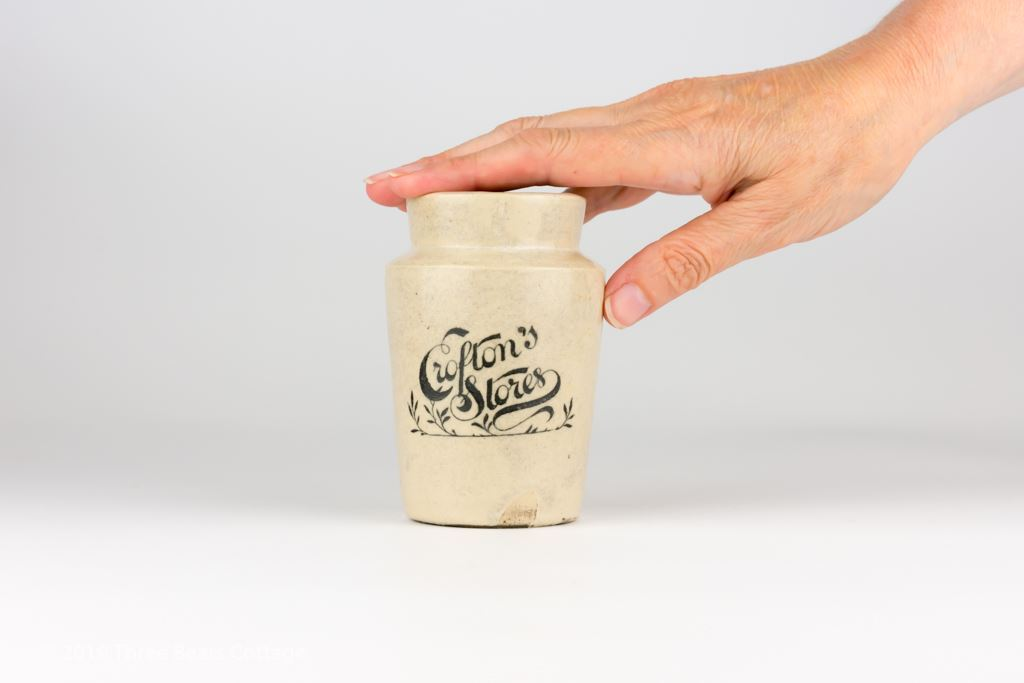 Crofton's Stores Large Stoneware Cream Pot