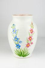 Edward Radford Hand-Painted Vase