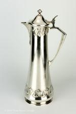 WMF Art Nouveau Jugendstil Silver Plated Claret Jug