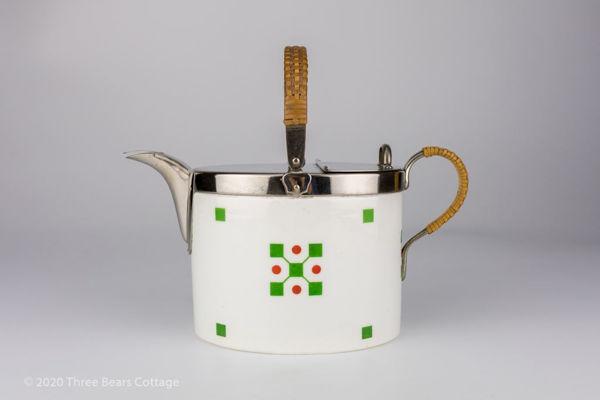 WMF & Max Roesler Art Deco Modernist Teapot