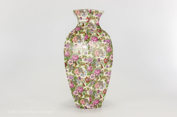 Main picture of large Crown Ducal chintz vase
