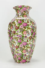 Side view 1 of large Crown Ducal chintz vase
