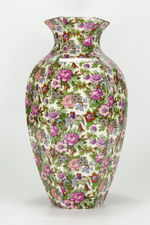 Side view 3 of large Crown Ducal chintz vase