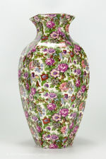 Side view 5 of large Crown Ducal chintz vase